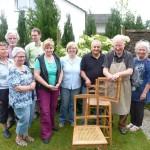 RÜCKBLICK: Stühle aufarbeiten mit Josef Bals
